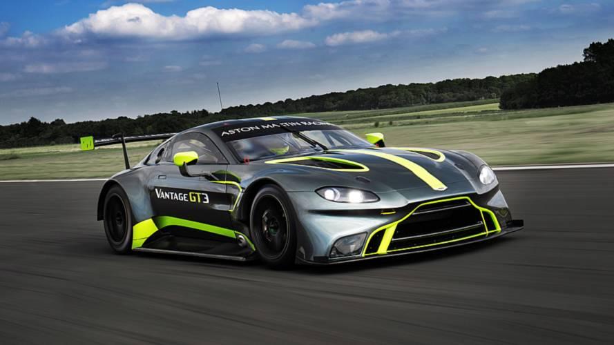 La nouvelle Aston Martin Vantage GT3 présentée dans le cadre des 24 Heures du Mans