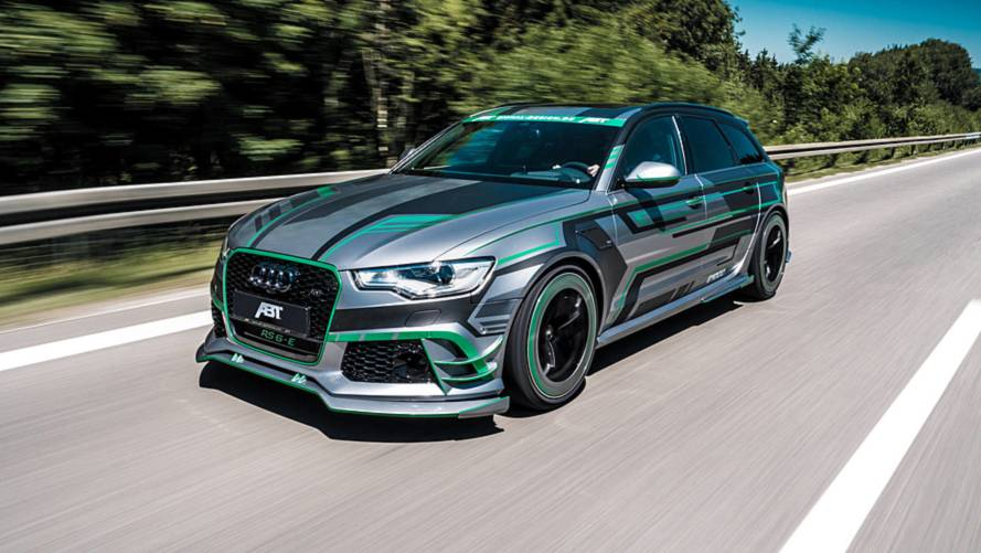 ABT Audi RS6-E is a 1,005-bhp hyper hybrid hauler
