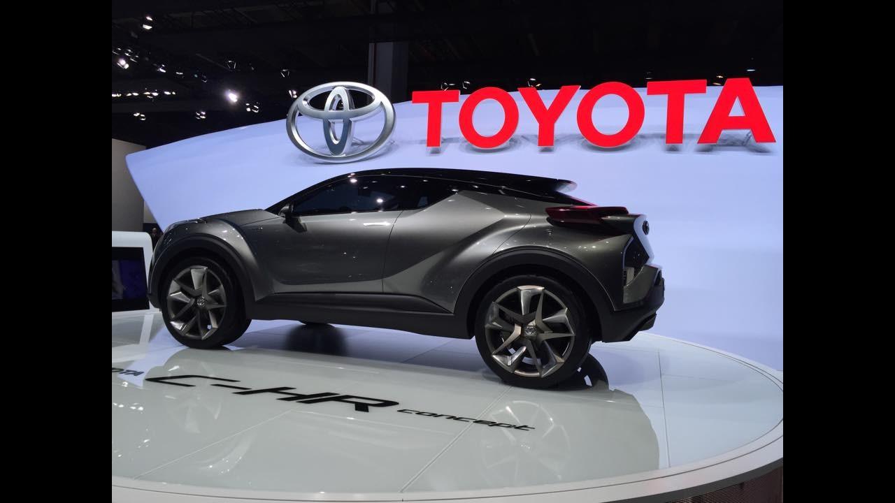 Rival do HR-V, Toyota C-HR terá espaço sacrificado em nome do design