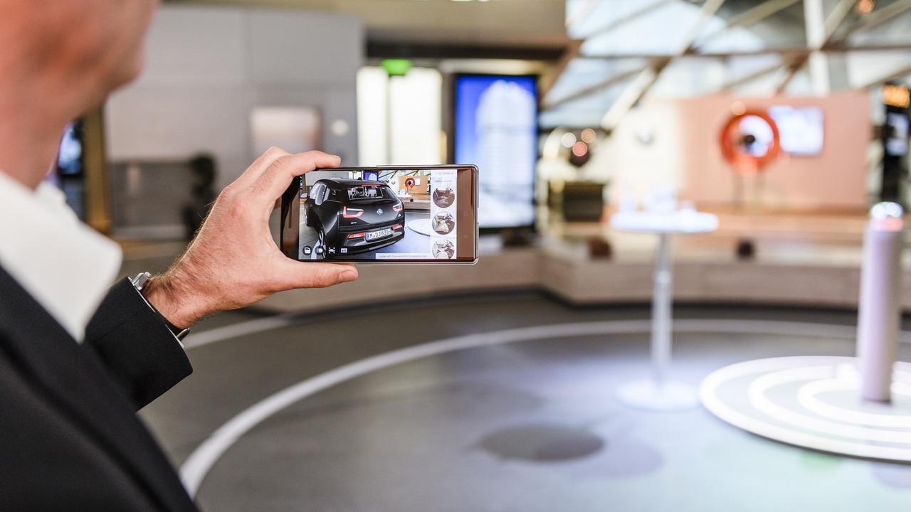BMW'nin 3 boyutlu otomobil görselleştiricisi