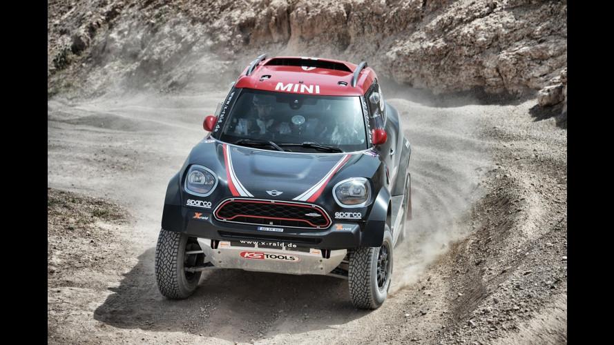 MINI John Cooper Works Rally, il gigante buono del deserto