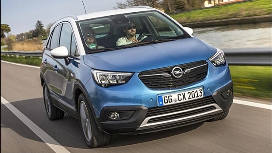 Opel Crossland X, il crossover piccolo e spazioso
