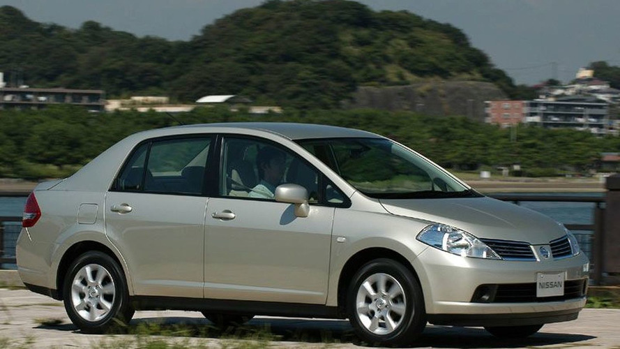 Nissan Releases New Tiida Latio Compact Sedan