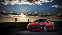 2012 Hyundai Genesis Coupe facelift 09.01.2012