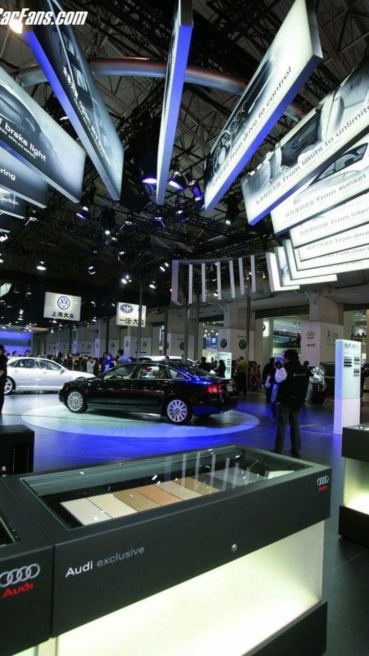 Audi at Auto China 2006