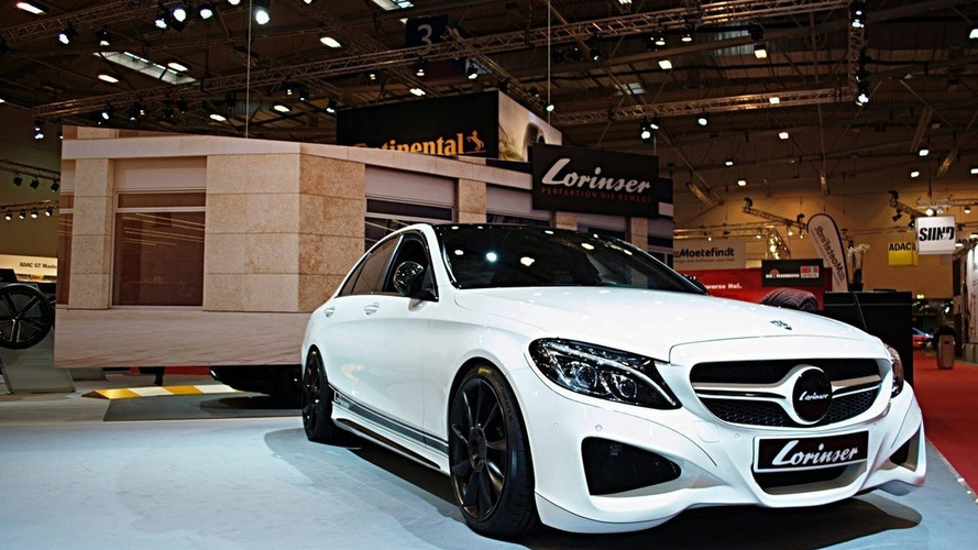Mercedes C450 dialed to 435 PS and 620 Nm by Lorinser for Essen