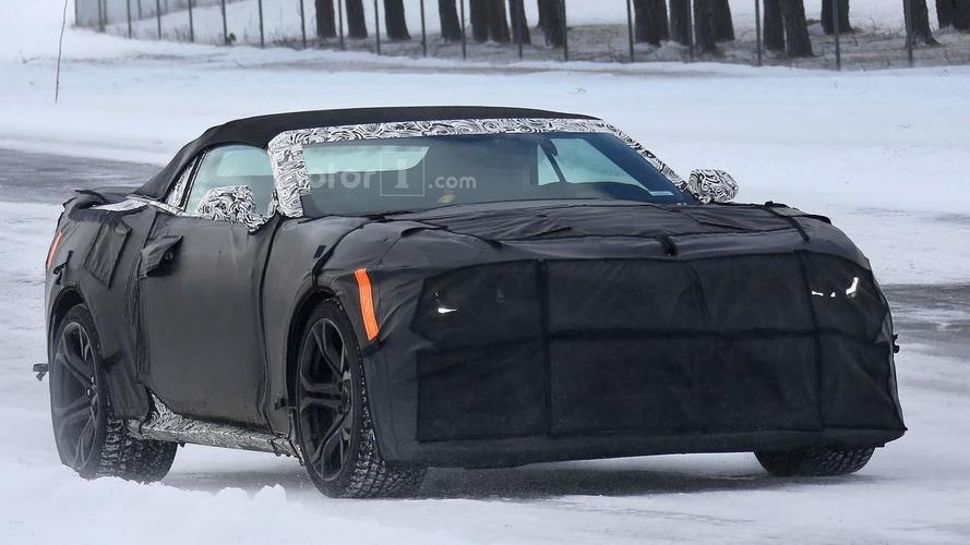 2017 Chevrolet Camaro ZL1 Convertible spied