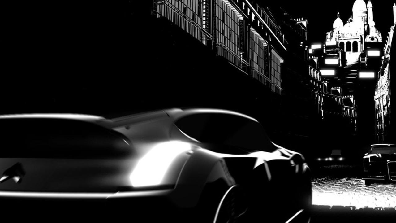Citroen DS from Renaissance: Paris 2054 film