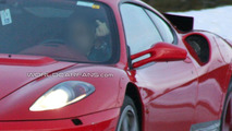 Ferrari F142 Mule Spied Showing Some Body Changes and Gestures