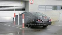 2011 Mercedes CLS first spy shots