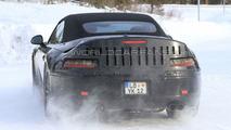 2011 Porsche 991 Cabrio Latest Winter Test Spy Photos