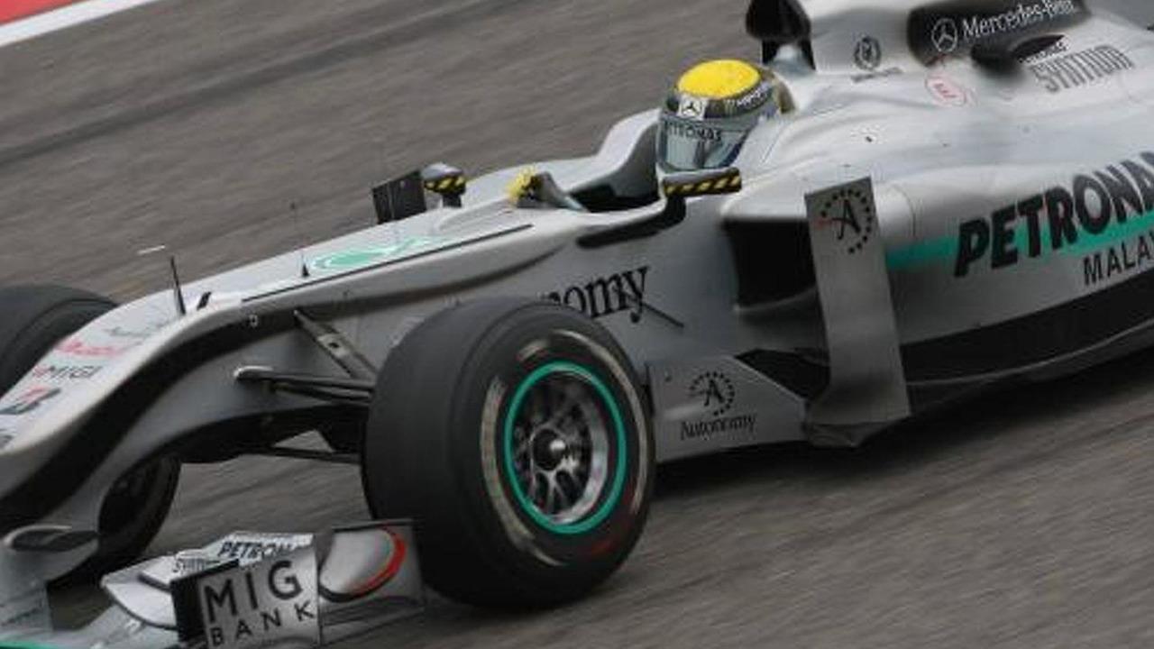 Nico Rosberg (GER), Mercedes GP Petronas, W01, Chinese Grand Prix, 16.04.2010 Shanghai, China