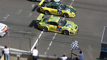 Manthey-Porsche Celebrates Record Win in the 24 Hours of Nurburgring