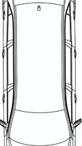 Mercedes E-Class Limo Sketches Surface