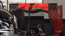Haas F1 Team VF-16, Rear wing