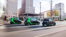 2017 Smart fortwo and forfour electric drive family