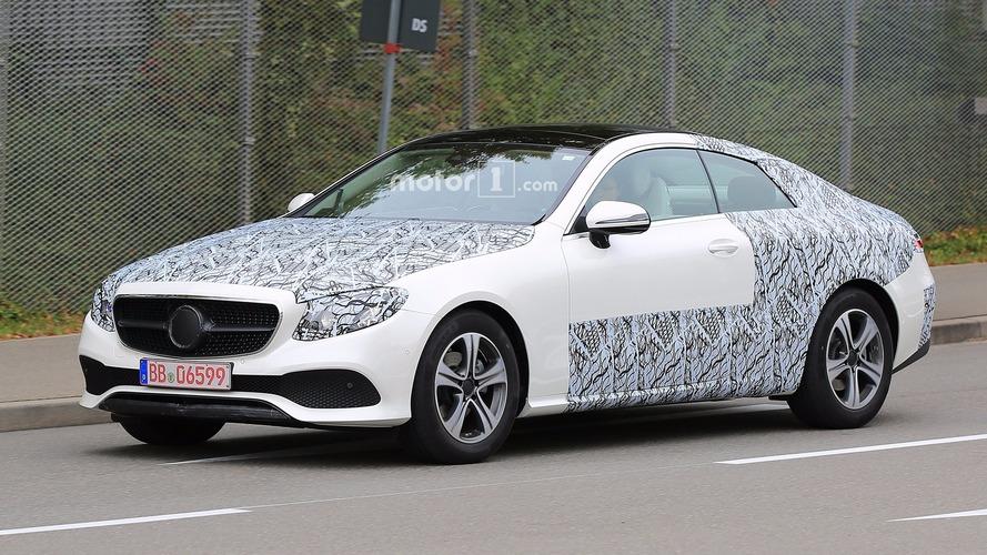 2018 Mercedes E Serisi Coupe kamuflajı azaltmış