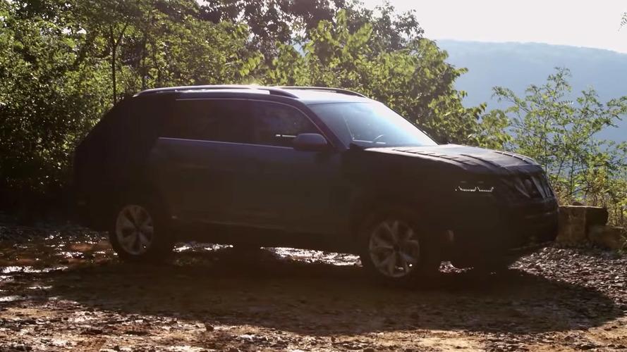 Volkswagen midsize crossover to be called 'Atlas'