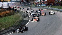 1977 Canadian GP - Gilles Villeneuve's first race with Ferrari