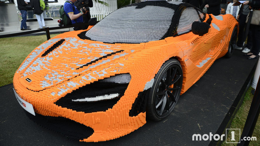 McLaren's Life-Size Lego 720S Looks Amazing In Person