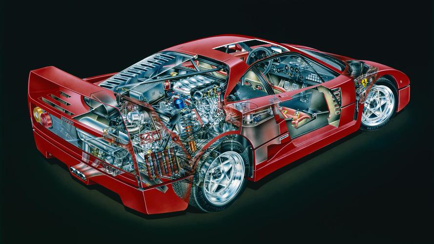 PHOTOS - Découvrez la Ferrari F40 en détail