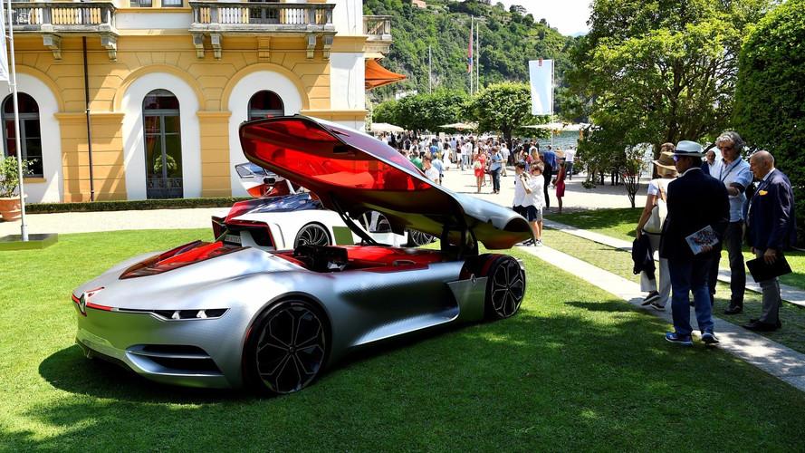 Le concept Renault Trezor brille à la Villa d'Este
