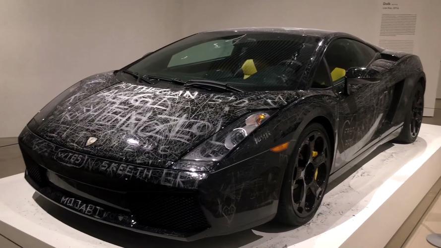 Lamborghini Gallardo Keyed In The Name Of Art