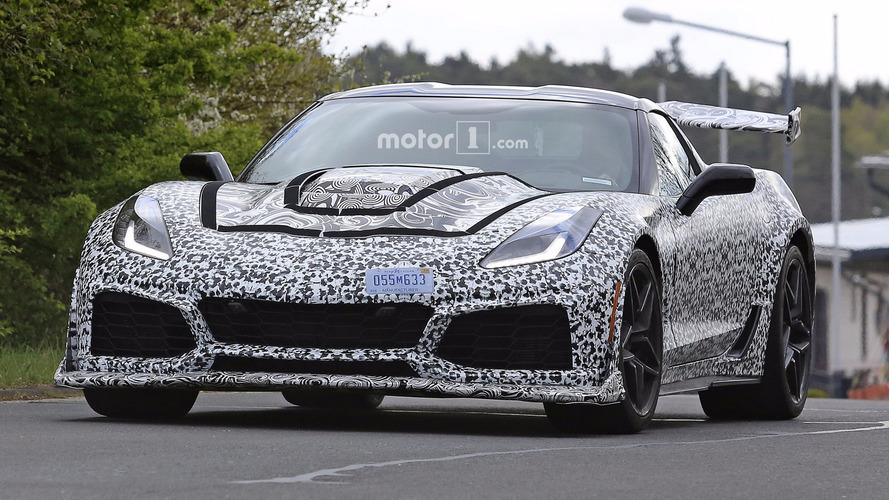 La Corvette C7 ZR1 se promène au Nürburgring