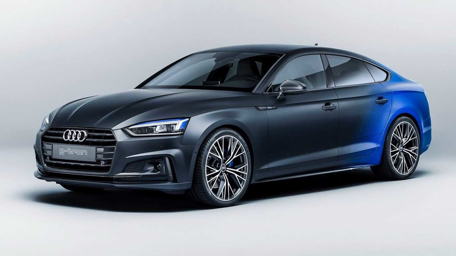 Audi A5 Sportback G-Tron Debuts at Worthersee With Special Finish