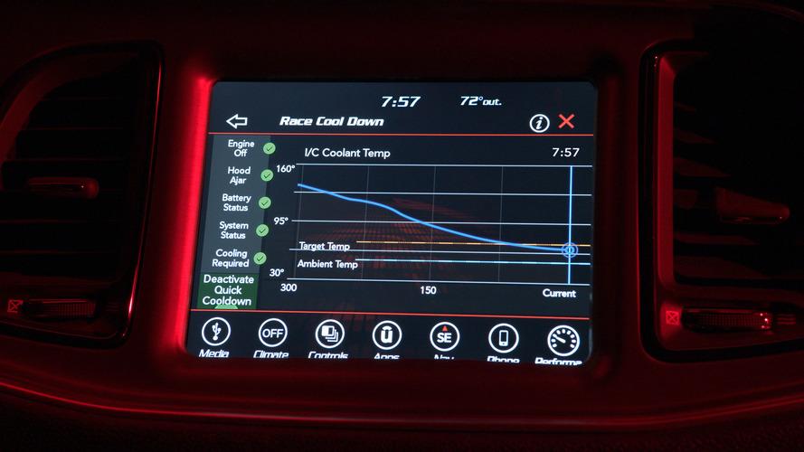 Dodge Challenger Demon dives into tech data for latest teaser
