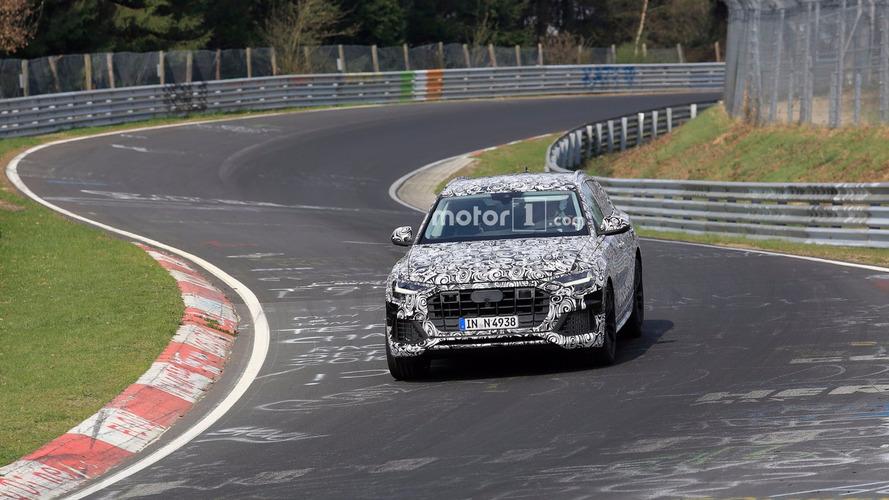 VIDÉO - L'Audi Q8 est prêt à croquer ses concurrents sur le Ring