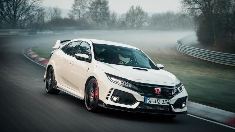 Recorde - Novo Civic Type R é o carro mais rápido de tração dianteira em Nürburgring
