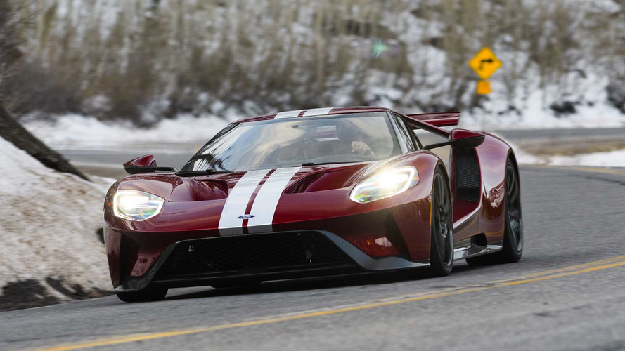 Ford GT Sets A Faster Lap Time Than Porsche 918 Spyder At VIR