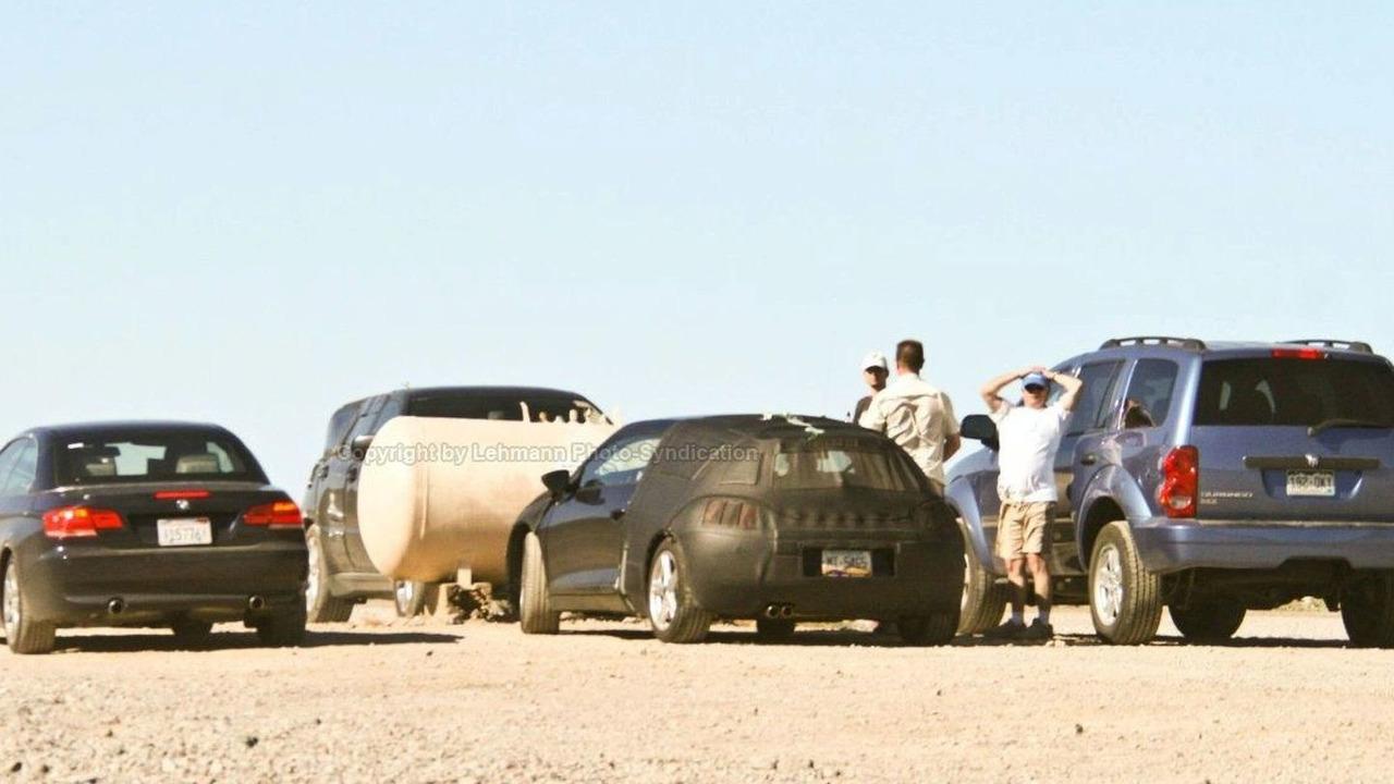Scirocco Coupe spy photos