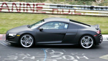 Audi R8 V10 spy photos