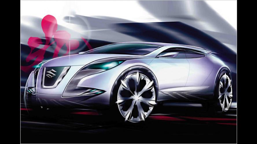 Suzuki: Concept Kizashi 2 und weitere Studien in Tokio