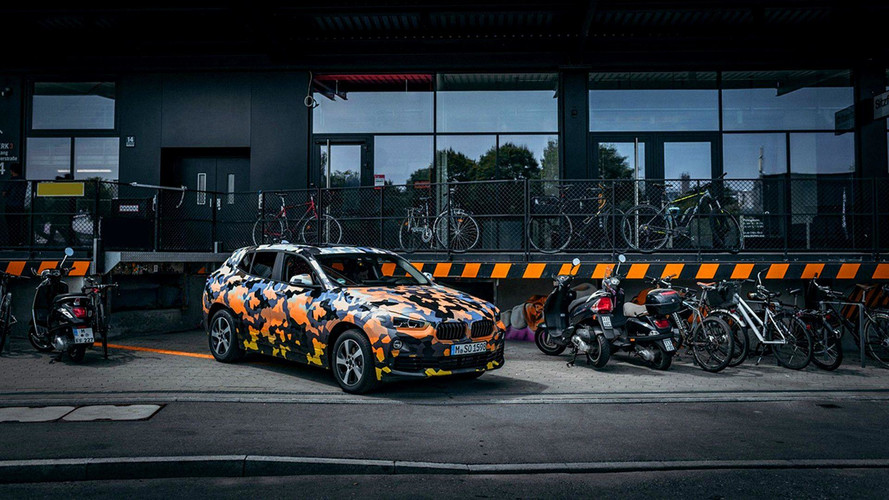 BMW X2 camouflé (2018)