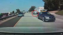 Infiniti BMW Crash