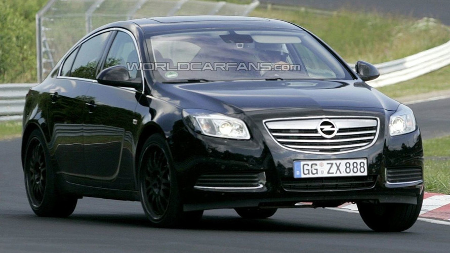 Opel Insignia Fastback Spied in Full Production Trim