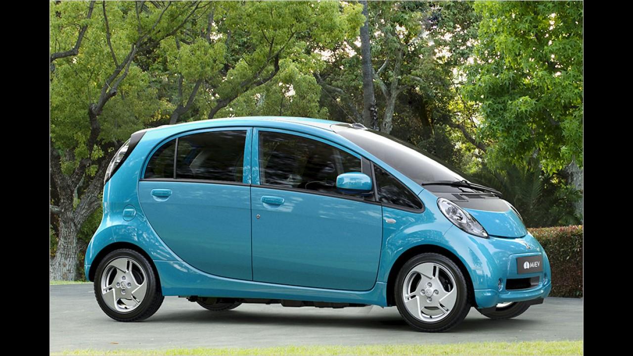 Mitsubishi Electric Vehicle und Peugeot iOn