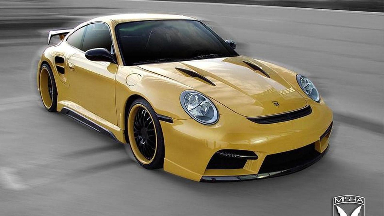 Porsche 911 Turbo body kit by Misha Design, 772, 30.07.2010