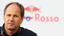 Scuderia Toro Rosso Team Owner Gerhard Berger is seen in the paddock during practice for the Bahrain Formula One Grand Prix at the Bahrain International Circuit on April 4, 2008 in Sakhir, Bahrain