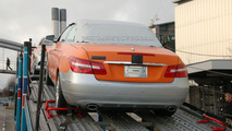 2010 Mercedes E-Class Cabrio on Delivery Truck