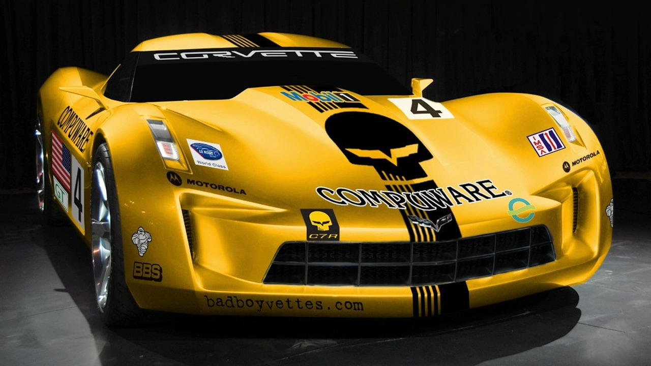 Corvette Stingray C7.R Artists Rendering