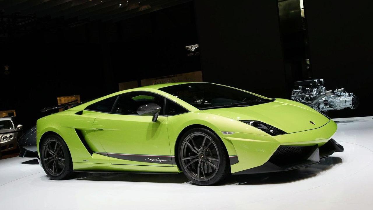 Lamborghini Gallardo 570-4 Superleggera live in Geneva 02.03.2010