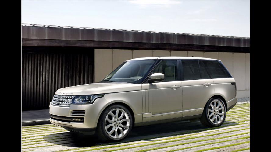 Neuer Range Rover: Luxus und Leichtbau
