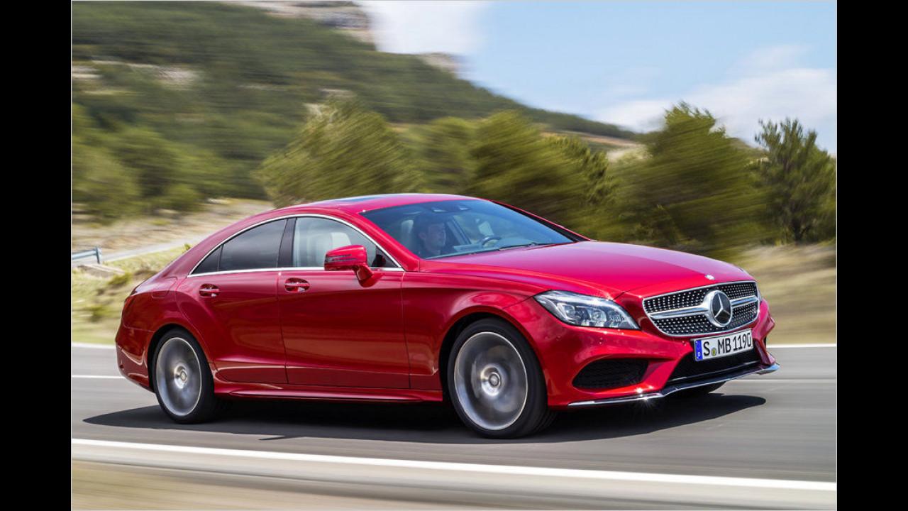 Oberklasse, Platz 2: Mercedes CLS (2.750 Stück)