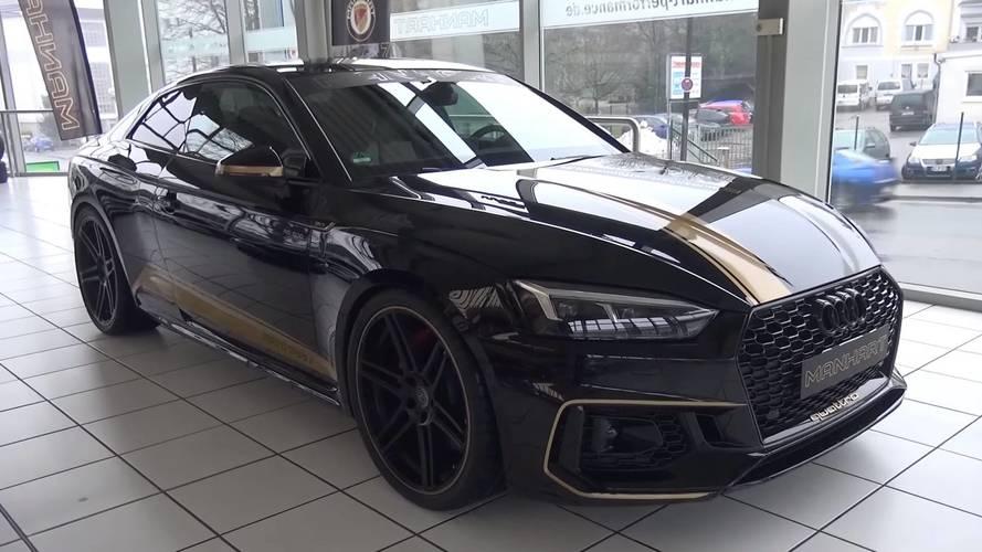 Audi RS 5 Coupé 2018 by Manhart, todavía más llamativo