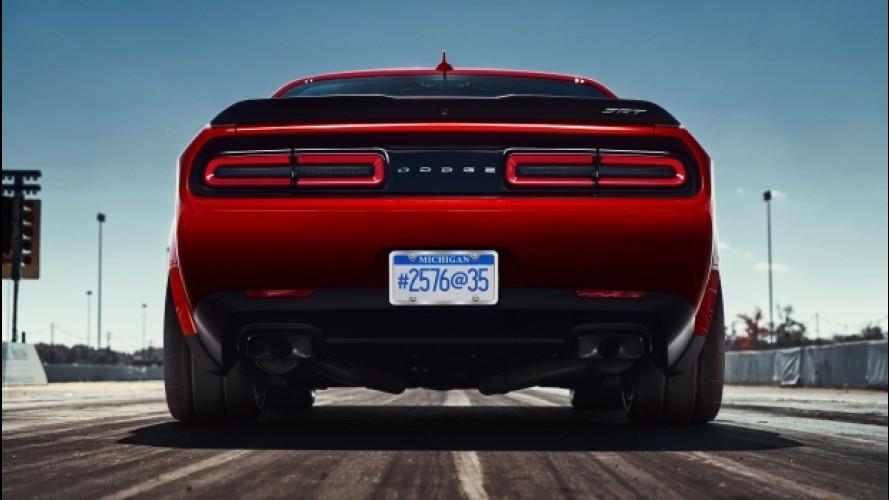 Dodge Challenger SRT Demon, le gomme sono da record [VIDEO]