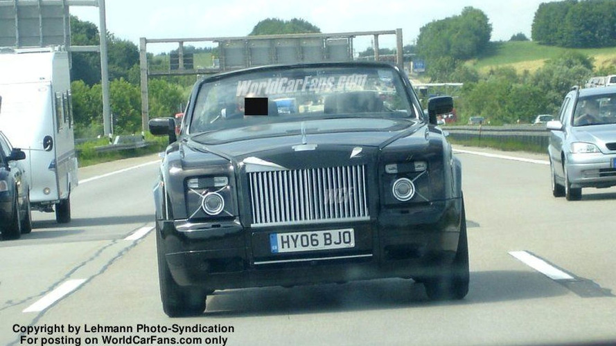 SPY PHOTOS: Rolls Royce Corniche Cabrio Latest Pics